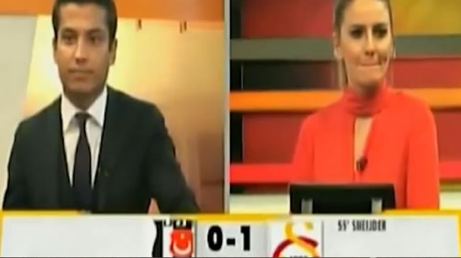 Skandal! Beşiktaş golü attı GSTV coştu!