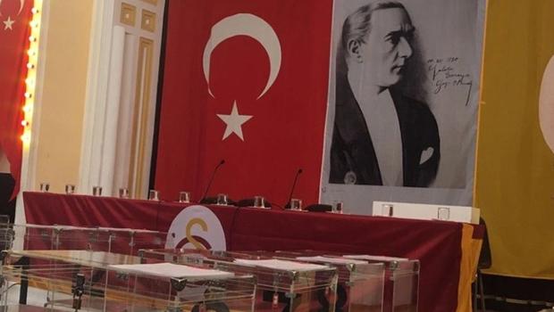 Galatasaray Spor Kulübü'nden seçim açıklaması!