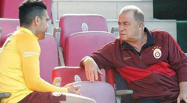 Fatih Terim'den dikkat çeken Radamel Falcao kararı
