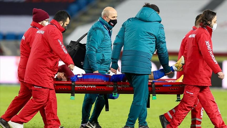 Trabzonspor'a Abdülkadir Ömür'den kötü haber