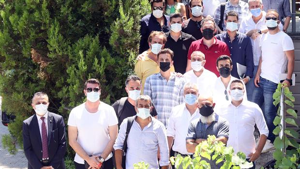 Fatih Terim, medya mensupları ile bir araya geldi