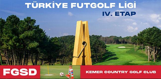 Ford Futgolf Ligi 9-12 Eylül'de Kemer Country Golf Club sahasında!